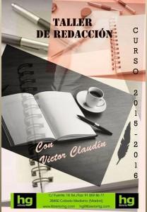 cartel taller redacción 2