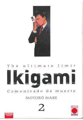 The ultimate limit Ikigami: Comunicado de muerte 2