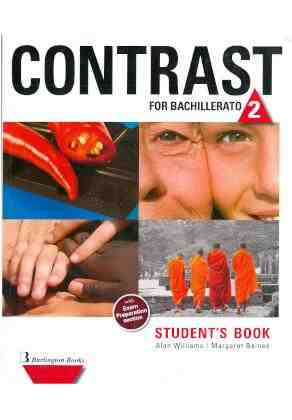 Contrast for bachillerato 2: students books