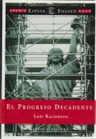 El progreso decadente